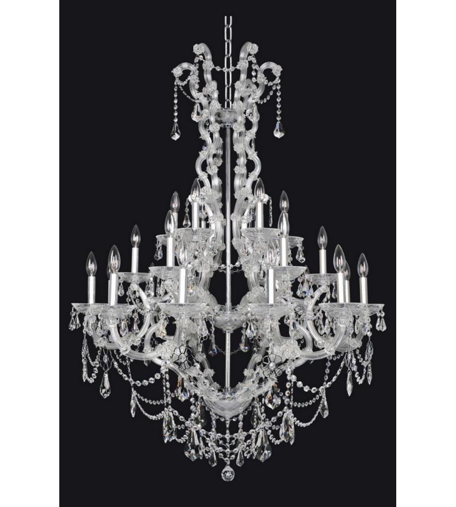 Allegri 023452 brahms 24 light chandelier in chrome allegri 023452 brahms 24 light chandelier in chrome foundrylighting arubaitofo Image collections