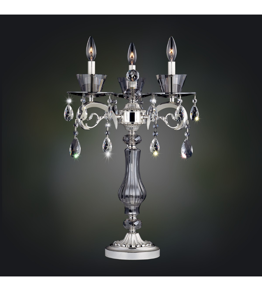 Allegri 10094 locatelli 3 light table lamp wswarovski elements allegri 10094 locatelli 3 light table lamp wswarovski elements crystal in 2 tone silver foundrylighting mozeypictures Choice Image