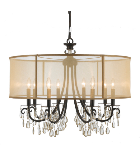 crystorama 5625 ab hampton 5 light chandelier in antique. Black Bedroom Furniture Sets. Home Design Ideas
