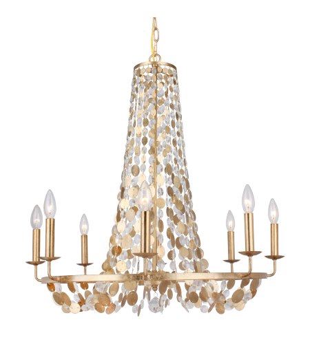 Currey And Company Lucien: Shop For Gold Chandelier At Foundry Lighting