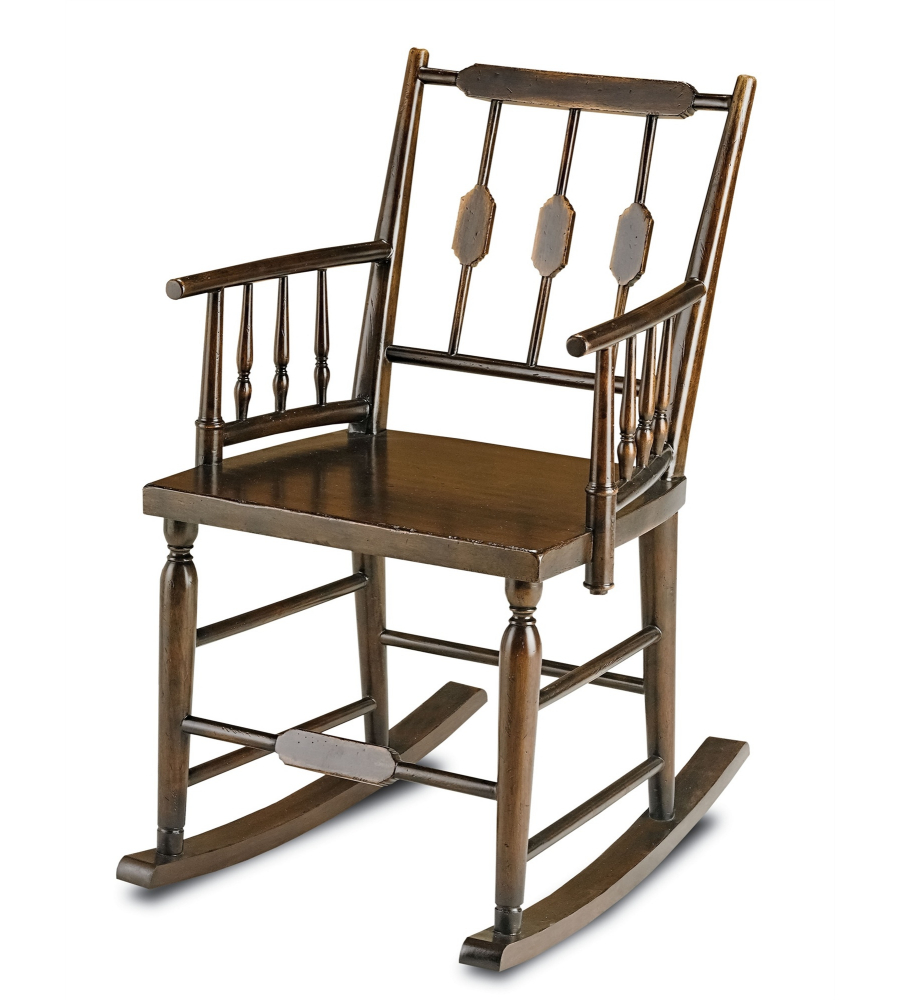 Currey And Company 3233 Chestertown Rocking Chair In