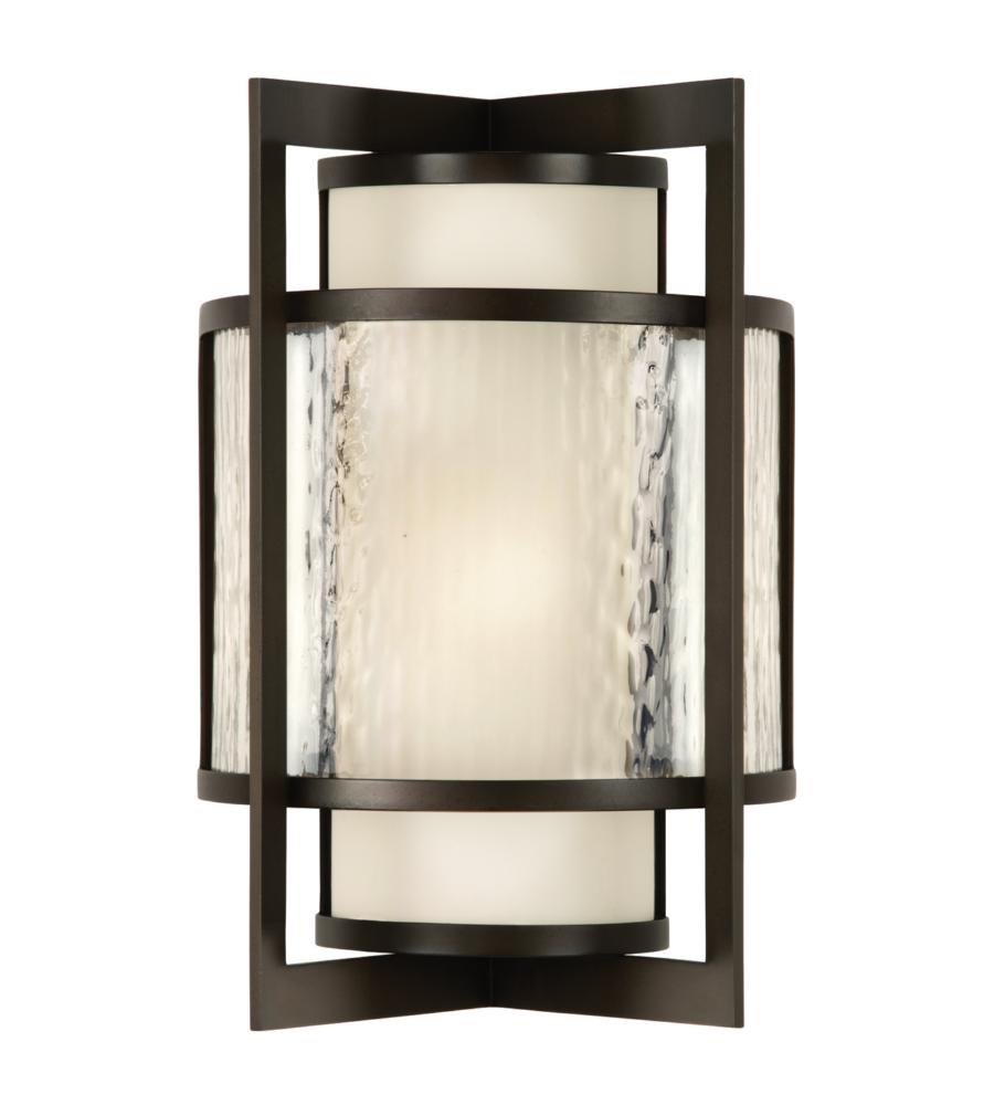 Fine Art Lamps 818281st Singapore Moderne Outdoor 2 Light Outdoor