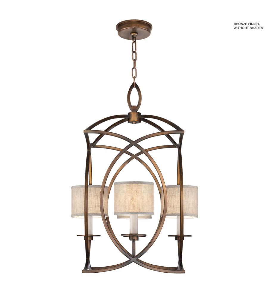 fine art lamps 887740 1st cienfuegos 4 light pendant in antique