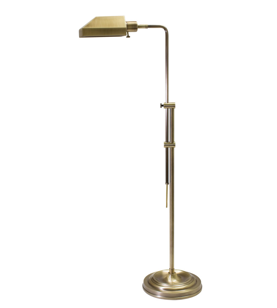House of troy ch825 ab 1 light coach adjustable antique brass house of troy ch825 ab 1 light coach adjustable antique brass pharmacy floor lamp in antique brass foundrylighting aloadofball Image collections