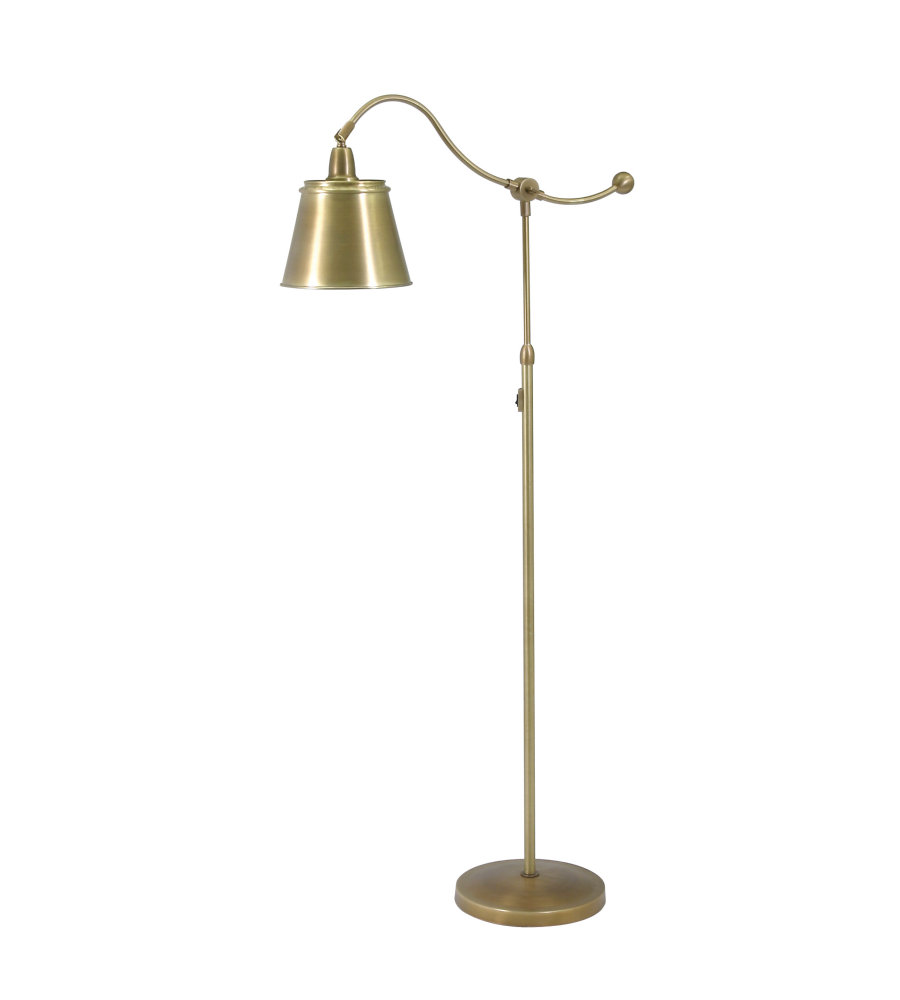 House of troy hp700 wb mswb 1 light hyde park floor lamp weathered house of troy hp700 wb mswb 1 light hyde park floor lamp weathered brass wmetal shade in weathered brass foundrylighting aloadofball Image collections