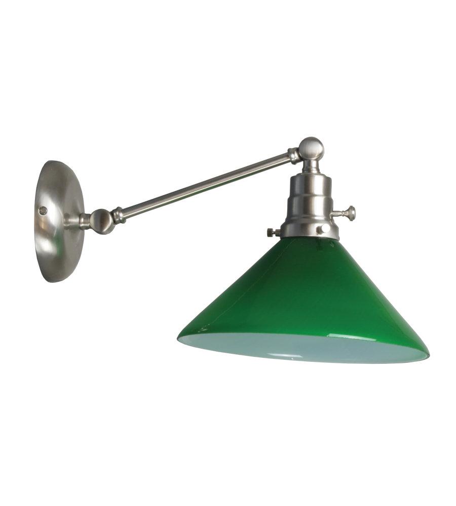 House Of Troy Ot675-Sn-Gr 1 Light Otis Industrial Wall Lamp-Direct ...