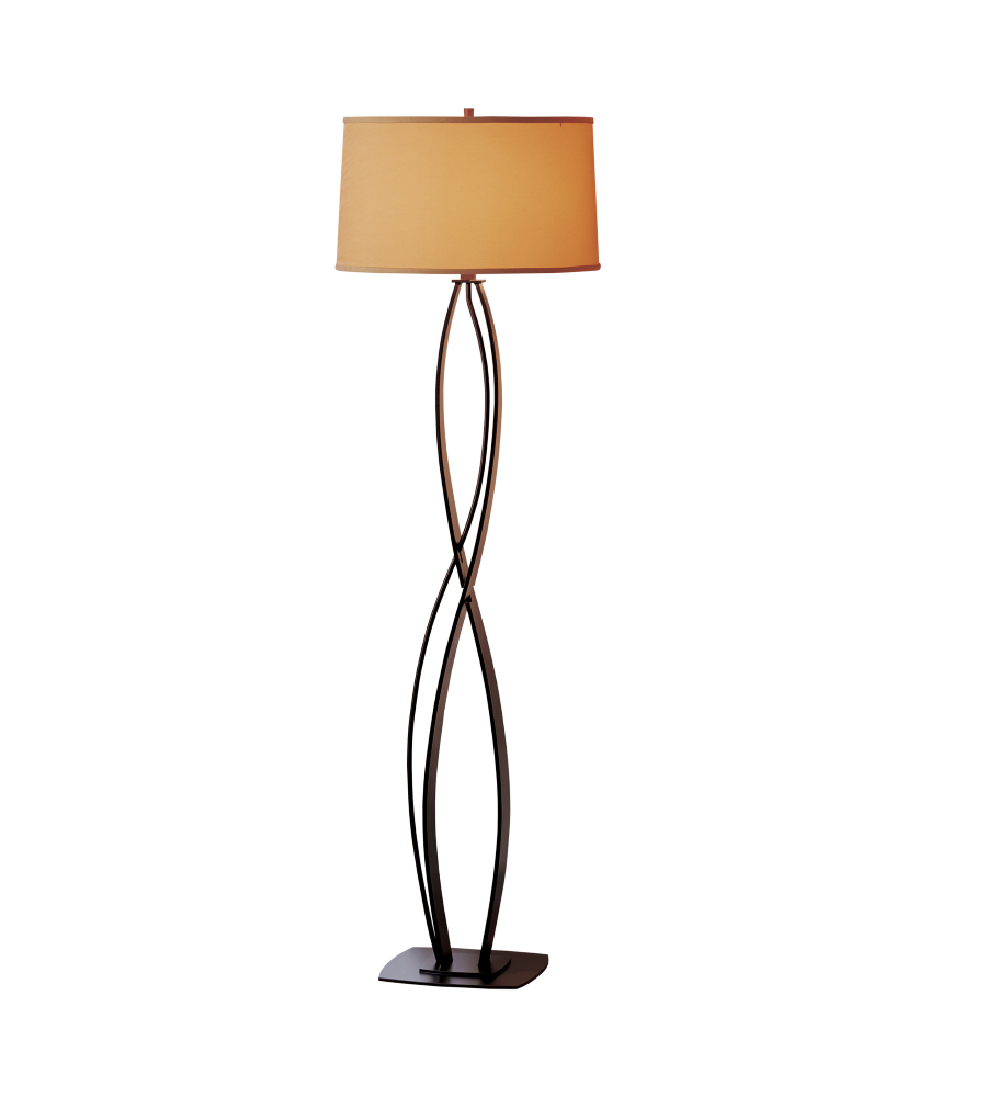 Hubbardton forge 232686 led 03 sb1894 1 light almost infinity hubbardton forge 232686 led 03 sb1894 1 light almost infinity floor lamp in mahogany foundrylighting aloadofball Images