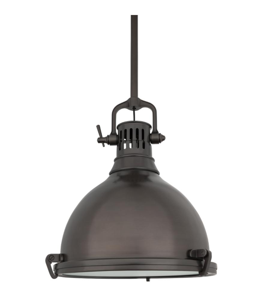 hudson valley lighting 2212 hb pelham 1 light pendant in historic