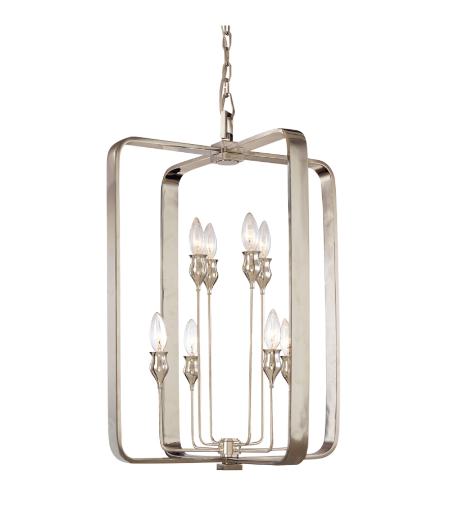 Hudson valley 7420 pn rumsford 8 light chandelier in polished nickel hudson valley 7420 pn rumsford 8 light chandelier in polished nickel foundrylighting arubaitofo Choice Image