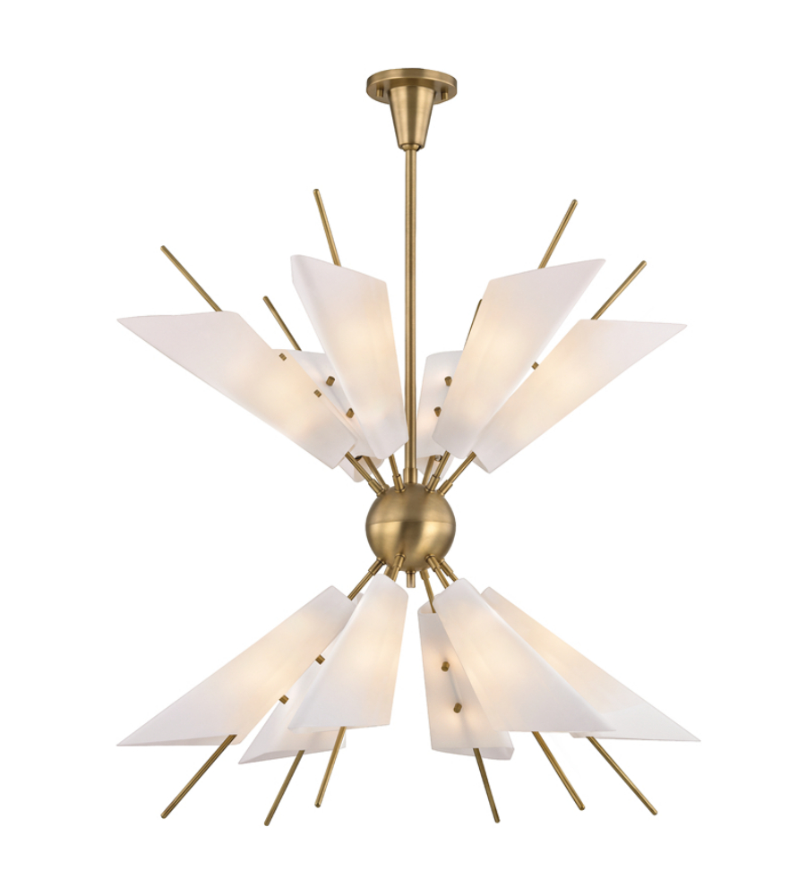 Hudson valley 8069 agb cooper 24 light chandelier in aged brass hudson valley 8069 agb cooper 24 light chandelier in aged brass foundrylighting arubaitofo Image collections