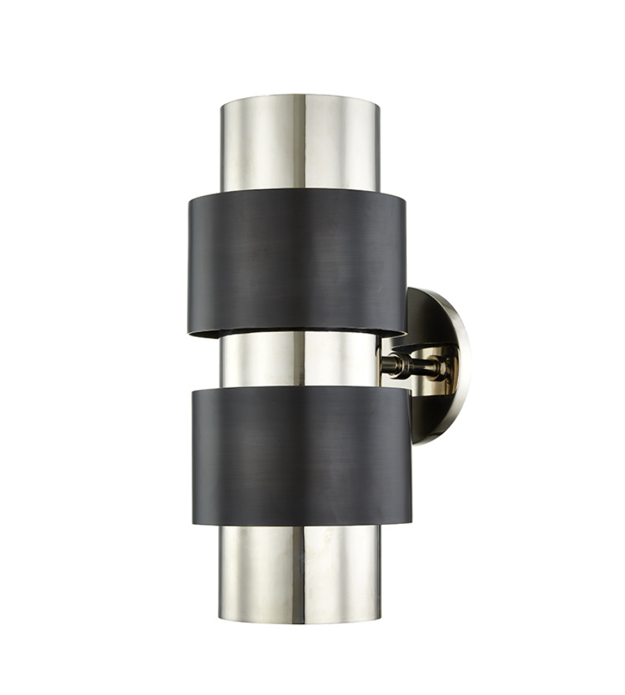 Hudson valley 9420 pnob cyrus 2 light wall sconce in polished nickel hudson valley 9420 pnob cyrus 2 light wall sconce in polished nickelold bronze combo foundrylighting aloadofball Gallery