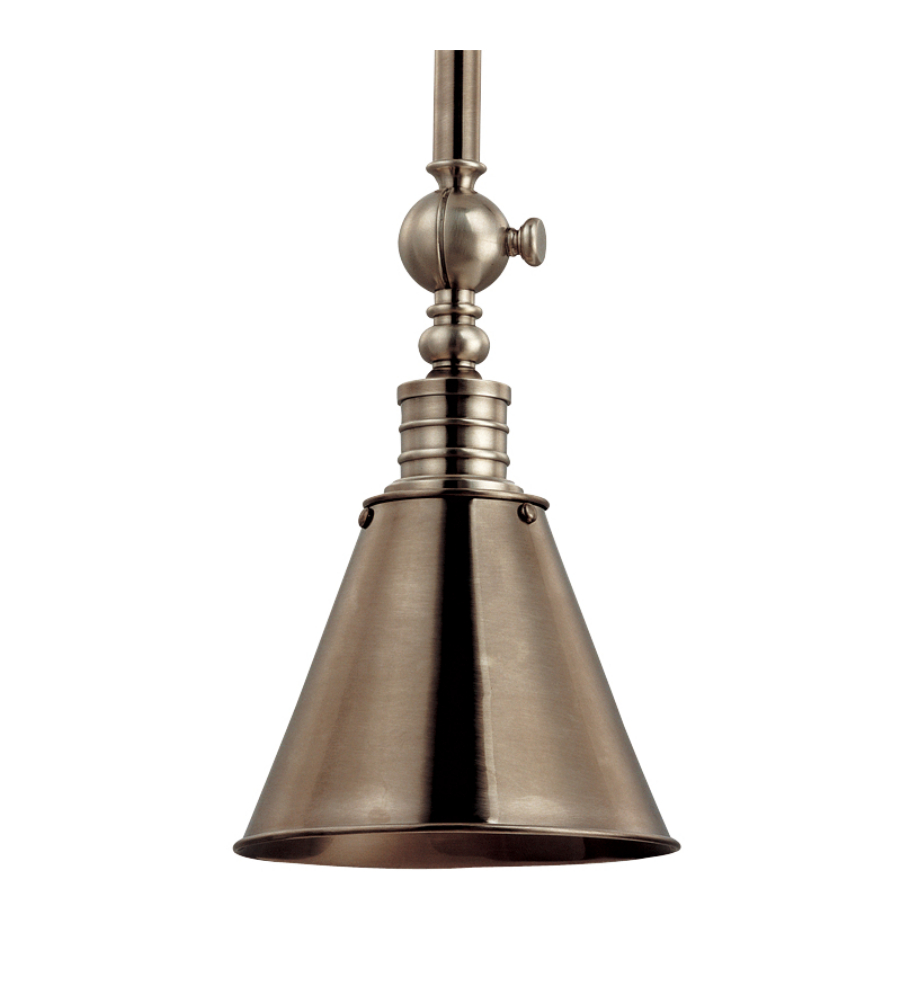 hudson valley 9908 hn darien 1 light pendant in historic