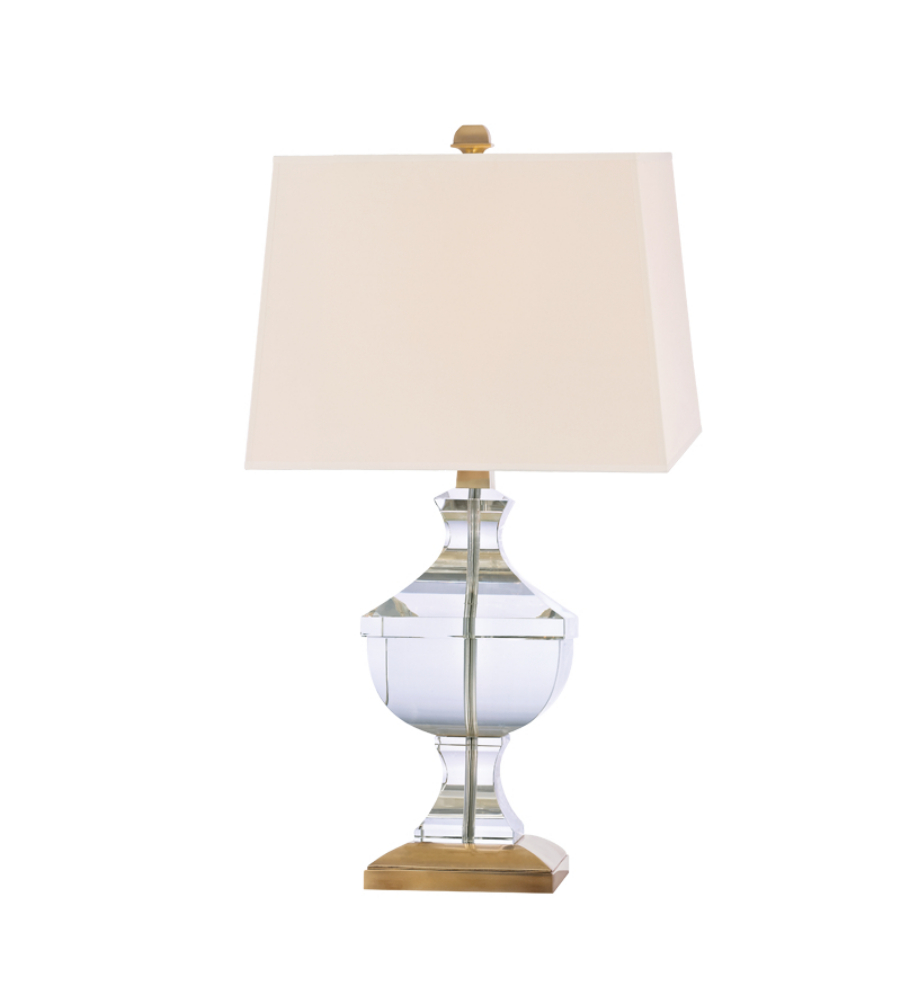 Hudson Valley Lighting L746 Agb Clyde Hill 1 Light Table