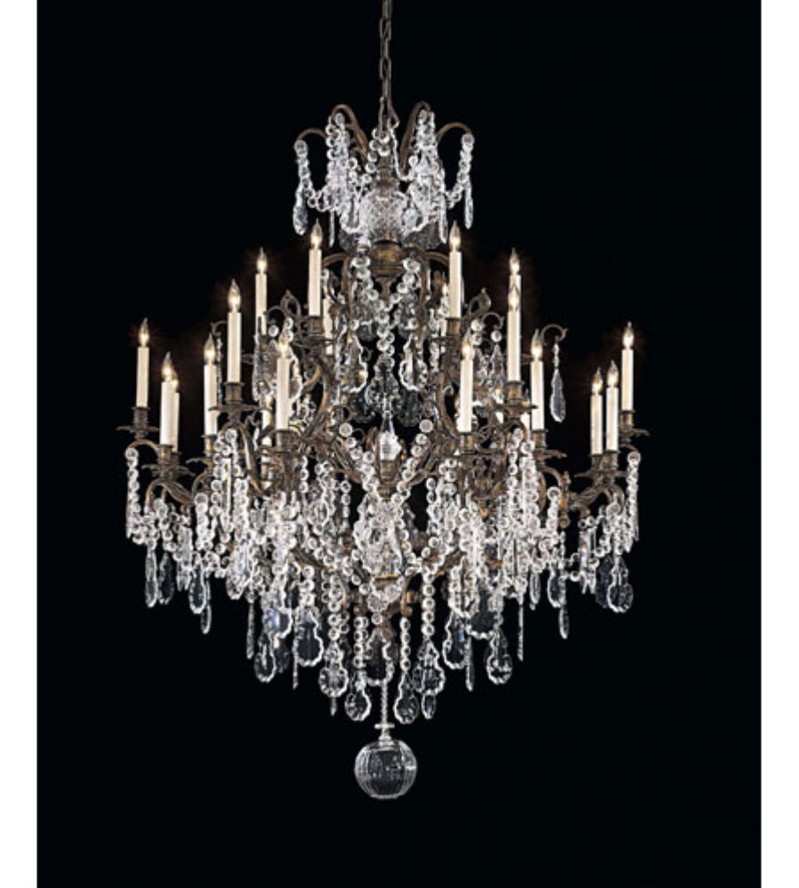 Metropolitan n950040 24 light chandelier foundrylighting arubaitofo Image collections