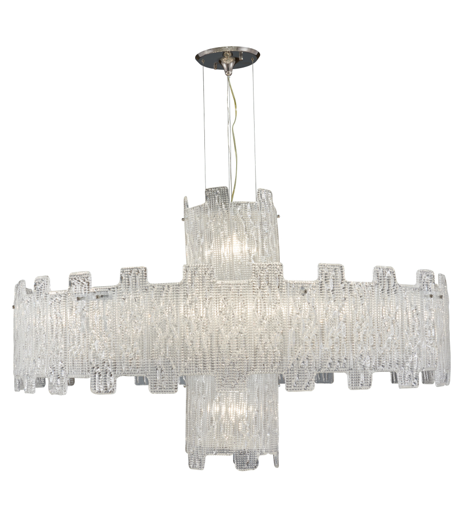 Metropolitan n950081 clear crystal chandelier foundrylighting aloadofball Choice Image