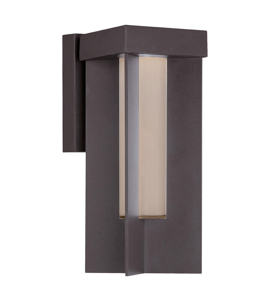Modern Forms WS-W5014-BZ Castleton LED Outdoor Wall Light in Bronze FoundryLighting.com