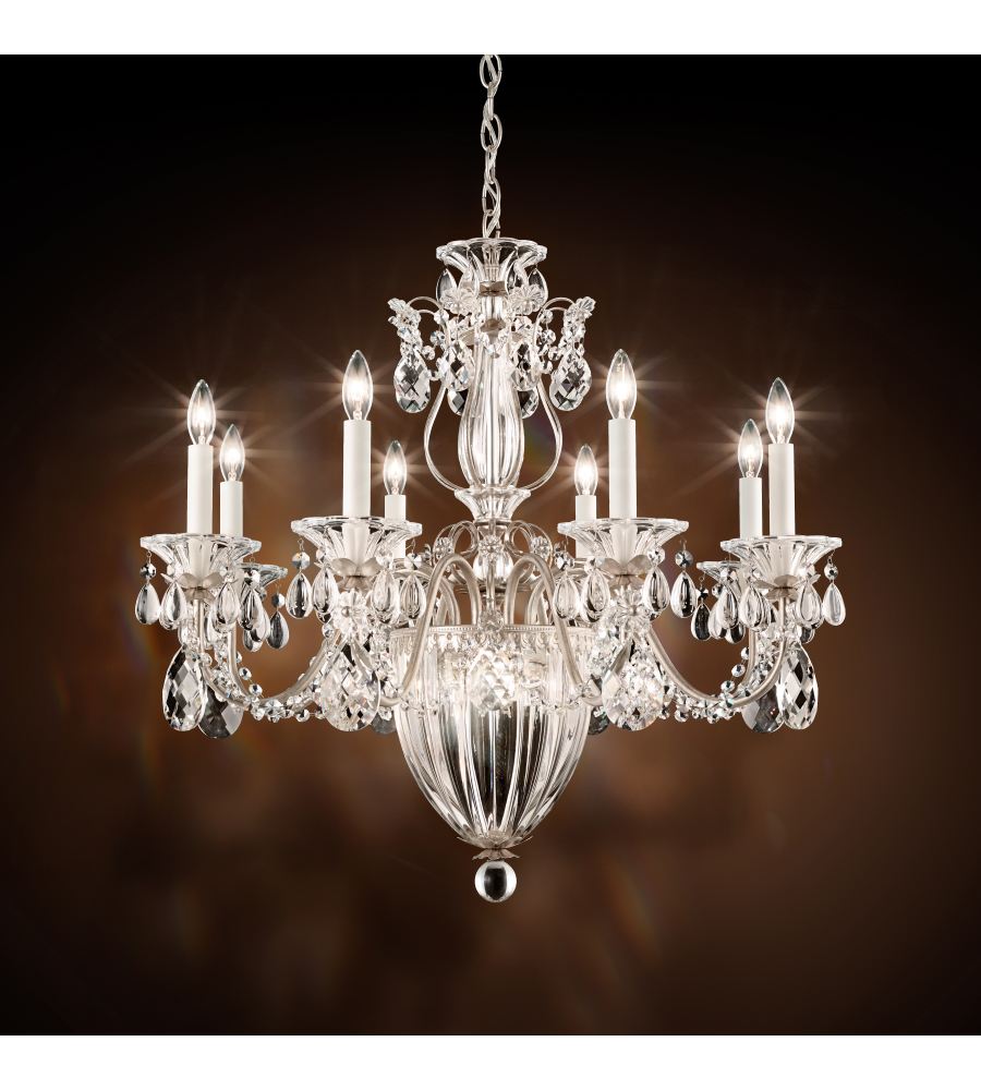 Schonbek 1238n 26s bagatelle 11 light 110v chandelier in french gold schonbek 1238n 26s bagatelle 11 light 110v chandelier in french gold with clear crystals from swarovski foundrylighting mozeypictures Image collections