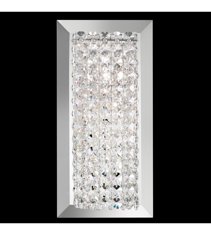 Schonbek Mtw0510bul Matrix 1 Light 110v Wall Sconce In Stainless