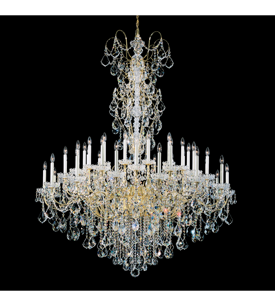Schonbek 3663 23h new orleans 45 light 110v chandelier in etruscan schonbek 3663 23h new orleans 45 light 110v chandelier in etruscan gold with clear heritage crystal foundrylighting aloadofball Images