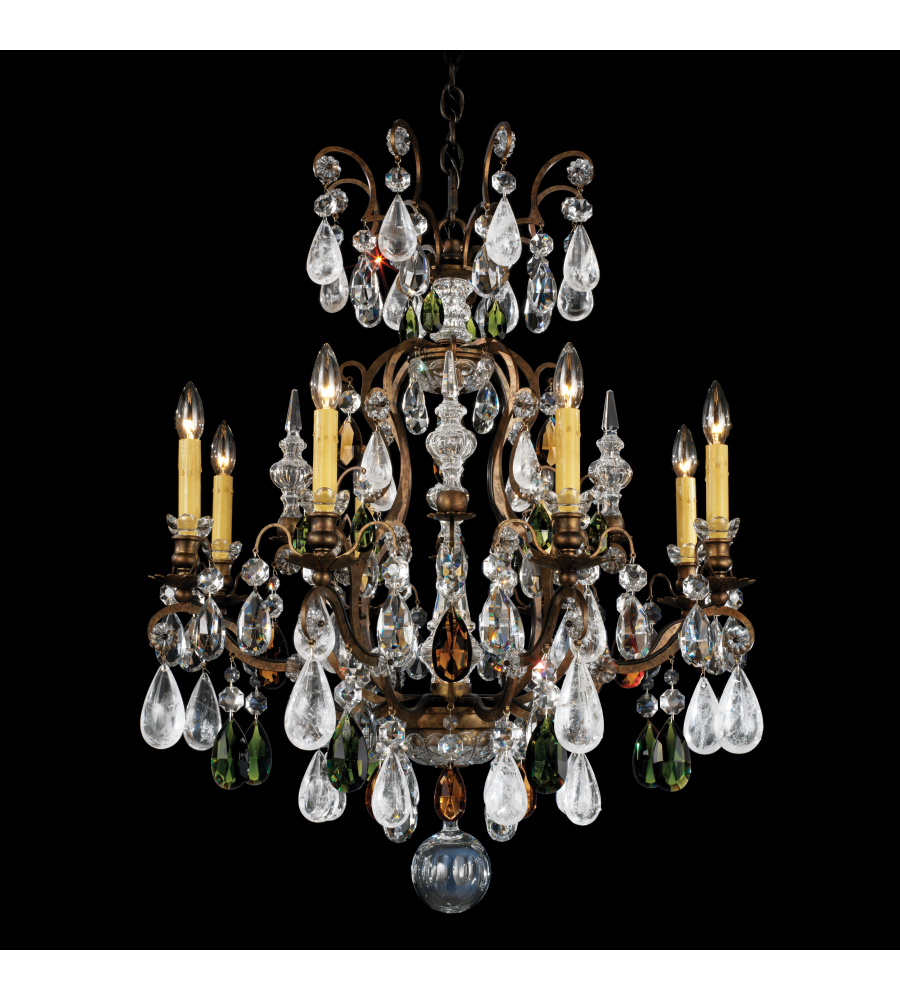 Schonbek 3571 47cl renaissance rock crystal 9 light 110v chandelier schonbek 3571 47cl renaissance rock crystal 9 light 110v chandelier in antique pewter with clear rock crystal foundrylighting arubaitofo Choice Image