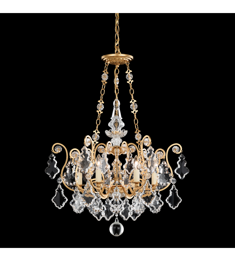 Schonbek 2786 76 versailles 6 light 110v chandelier in heirloom schonbek 2786 76 versailles 6 light 110v chandelier in heirloom bronze with clear heritage crystal foundrylighting mozeypictures Image collections