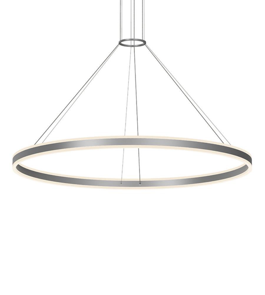sonneman double corona 2309 16 2 light 60 led ring pendant in