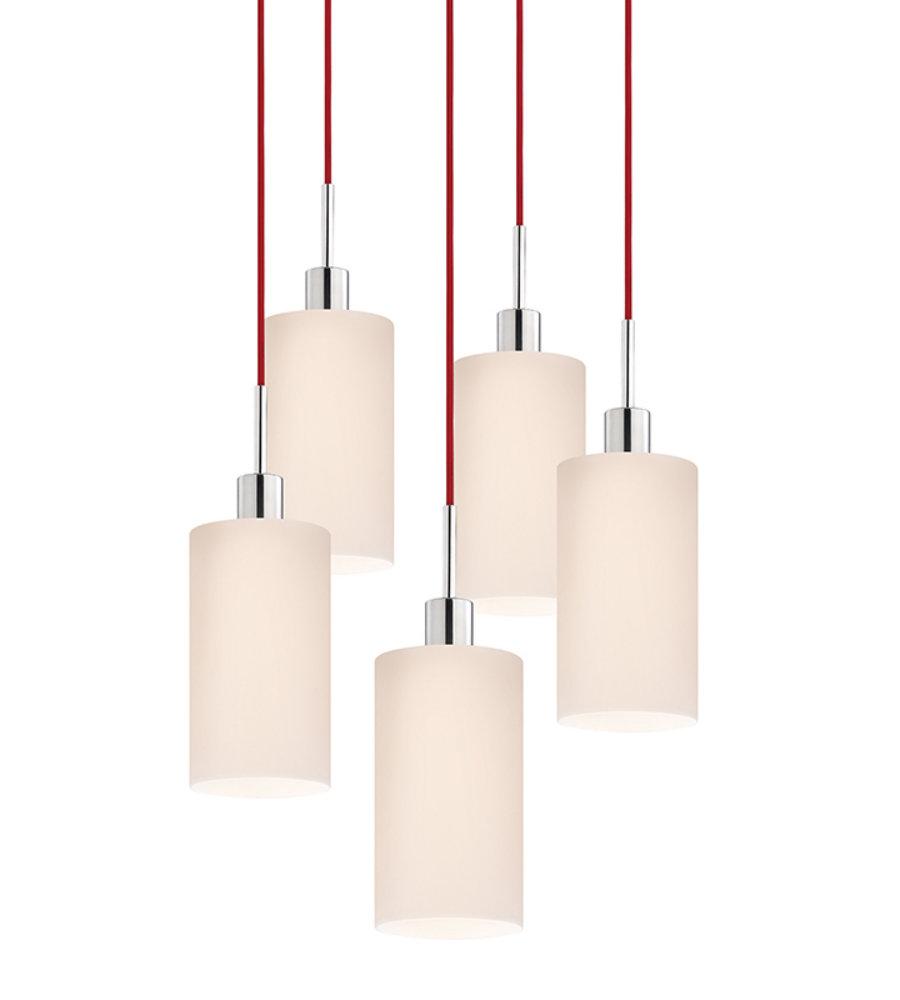 Lighting pendants glass Hanging Sonneman Glass Pendants 356001r5 Light Cylinder 5light Pendant In Polished Chrome Foundrylightingcom Pottery Barn Sonneman Glass Pendants 356001r5 Light Cylinder 5light Pendant