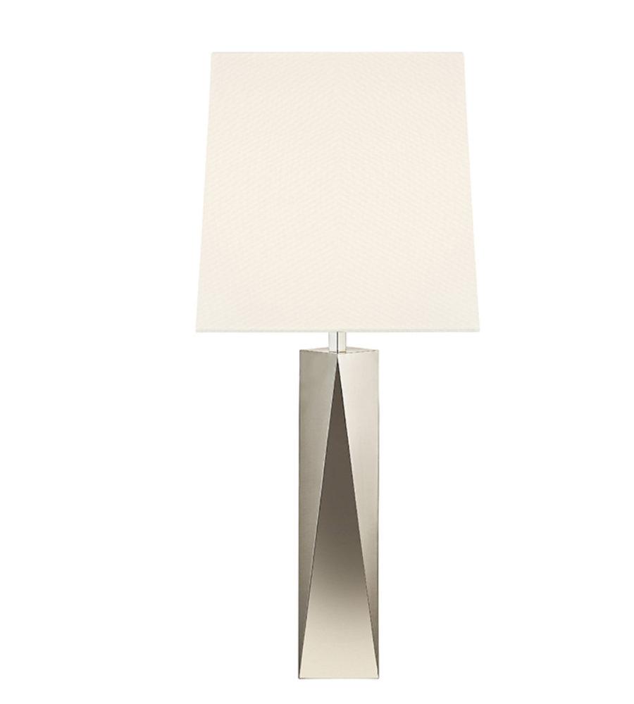 Sonneman facet 610235 1 light column table lamp in polished nickel sonneman facet 610235 1 light column table lamp in polished nickel foundrylighting aloadofball Images