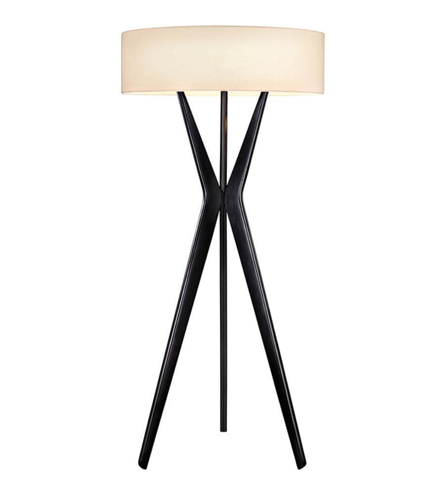 Sonneman bel air 615225 3 light large floor lamp in satin black sonneman bel air 615225 3 light large floor lamp in satin black foundrylighting aloadofball Image collections