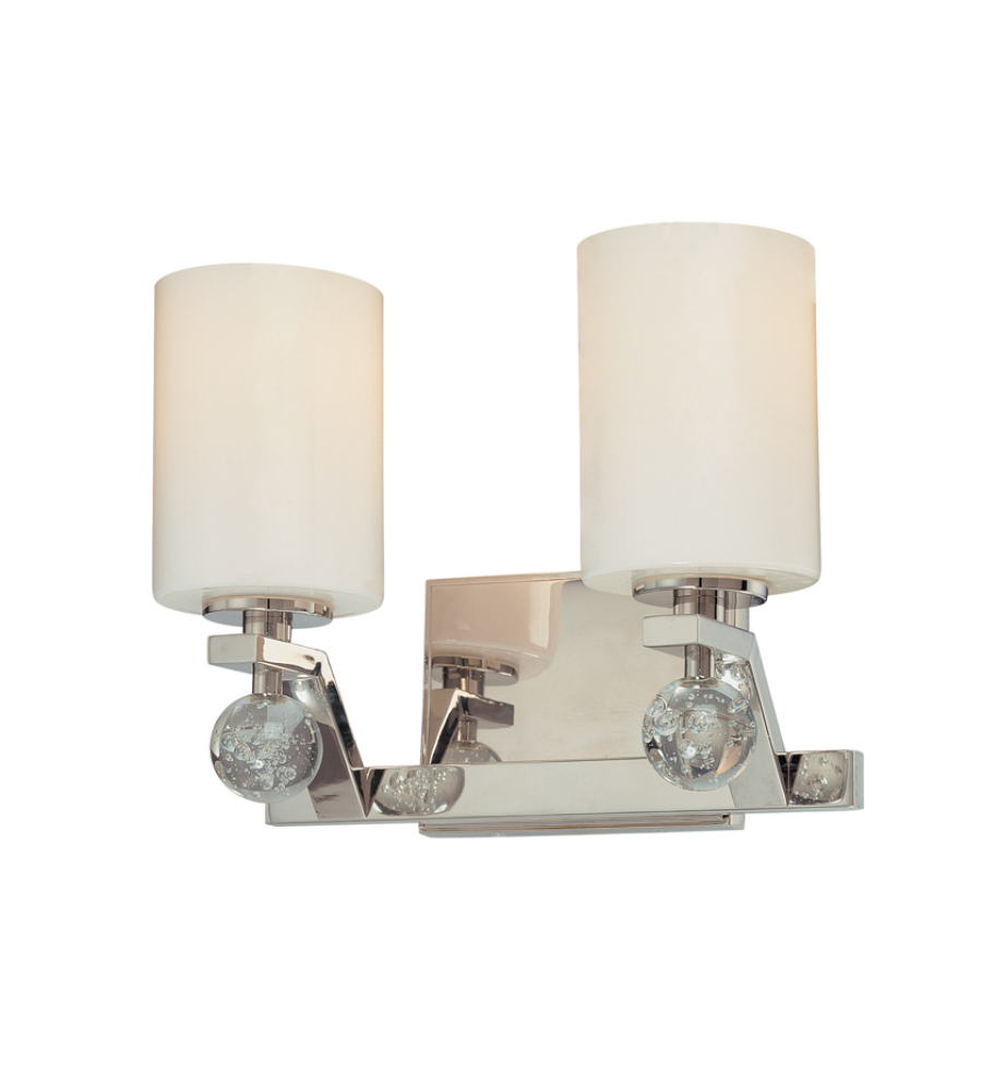 Troy Lighting B1932pn Tate 2 Light Bath Vanity In Polished Nickel
