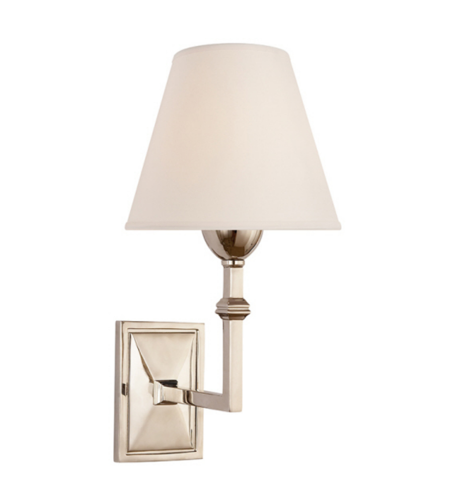 polished vendome bathroom nickel np comforter visual wall sconce single comfort bryant sconces
