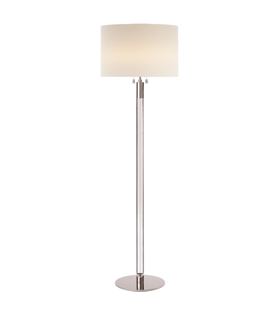 visual comfort arn1005pn cg l aerin riga floor lamp in. Black Bedroom Furniture Sets. Home Design Ideas