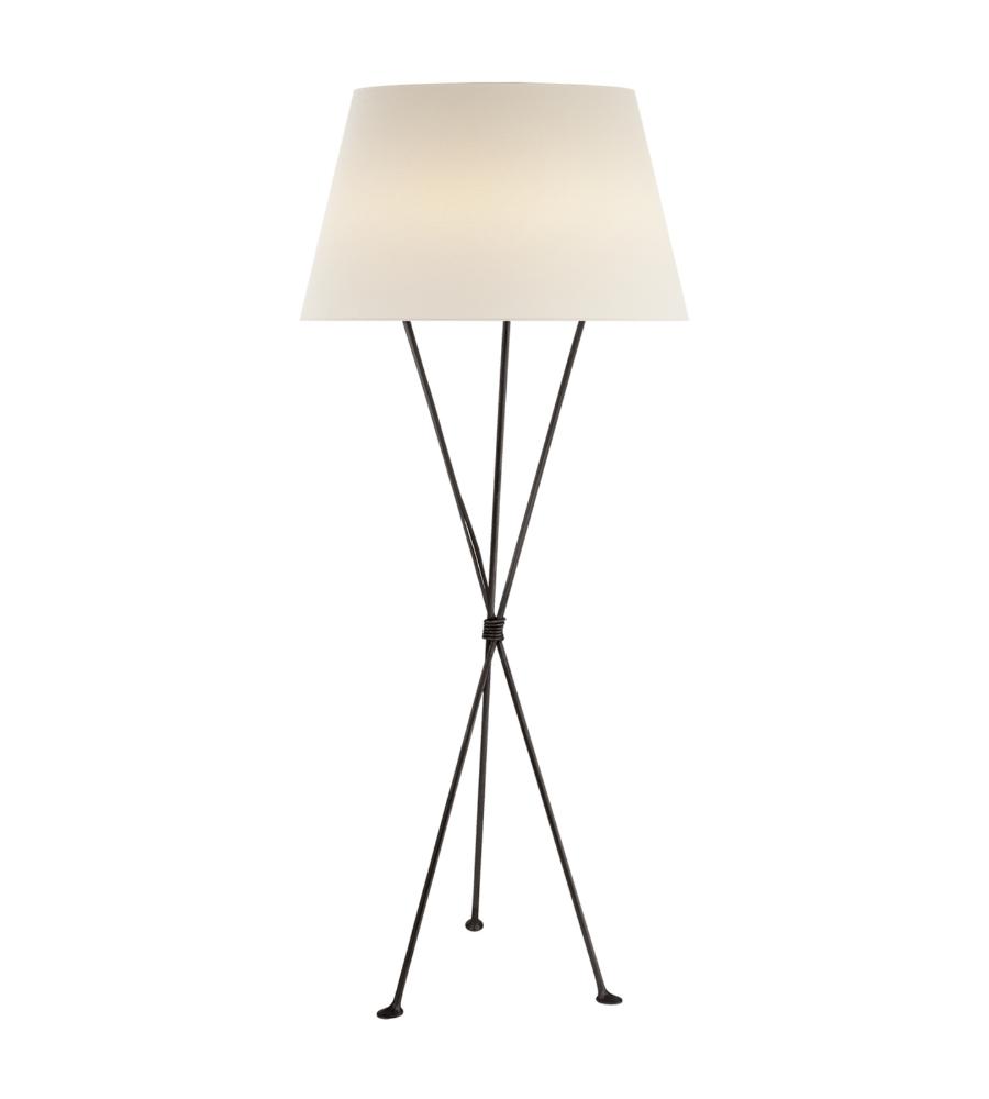 Visual comfort arn 1027ai l aerin casual lebon floor lamp in aged visual comfort arn 1027ai l aerin casual lebon floor lamp in aged iron with linen shade foundrylighting aloadofball Image collections