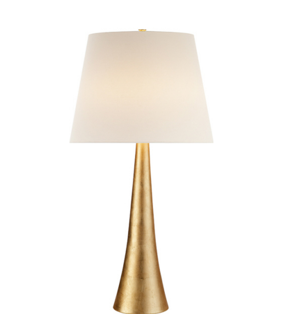 Visual comfort arn 3002g l aerin modern dover table lamp in gild visual comfort arn 3002g l aerin modern dover table lamp in gild with linen shade foundrylighting geotapseo Gallery