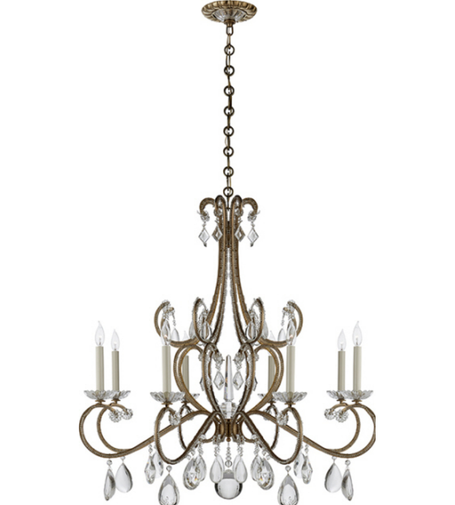 Visual comfort arn 5110hab cg aerin traditional montmartre visual comfort arn 5110hab cg aerin traditional montmartre chandelier in hand rubbed antique brass with crystal foundrylighting arubaitofo Choice Image