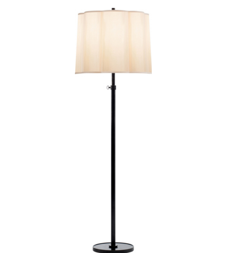 visual comfort bbl1023bz s barbara barry simple floor lamp. Black Bedroom Furniture Sets. Home Design Ideas