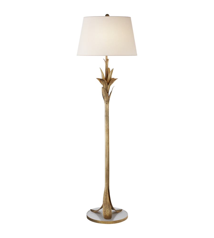 Visual comfort cha 9722gi np e f chapman casual palm leaf floor visual comfort cha 9722gi np e f chapman casual palm leaf floor lamp in gilded iron with natural paper shade foundrylighting aloadofball Image collections
