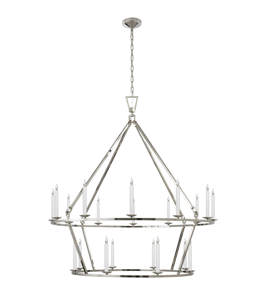 2 tier chandelier elegant aerin jacqueline twotier pendant for vs gallery of visual comfort chc pn e f chapman casual darlana extra large twotier chandelier in polished nickel with 2 tier chandelier arubaitofo Choice Image