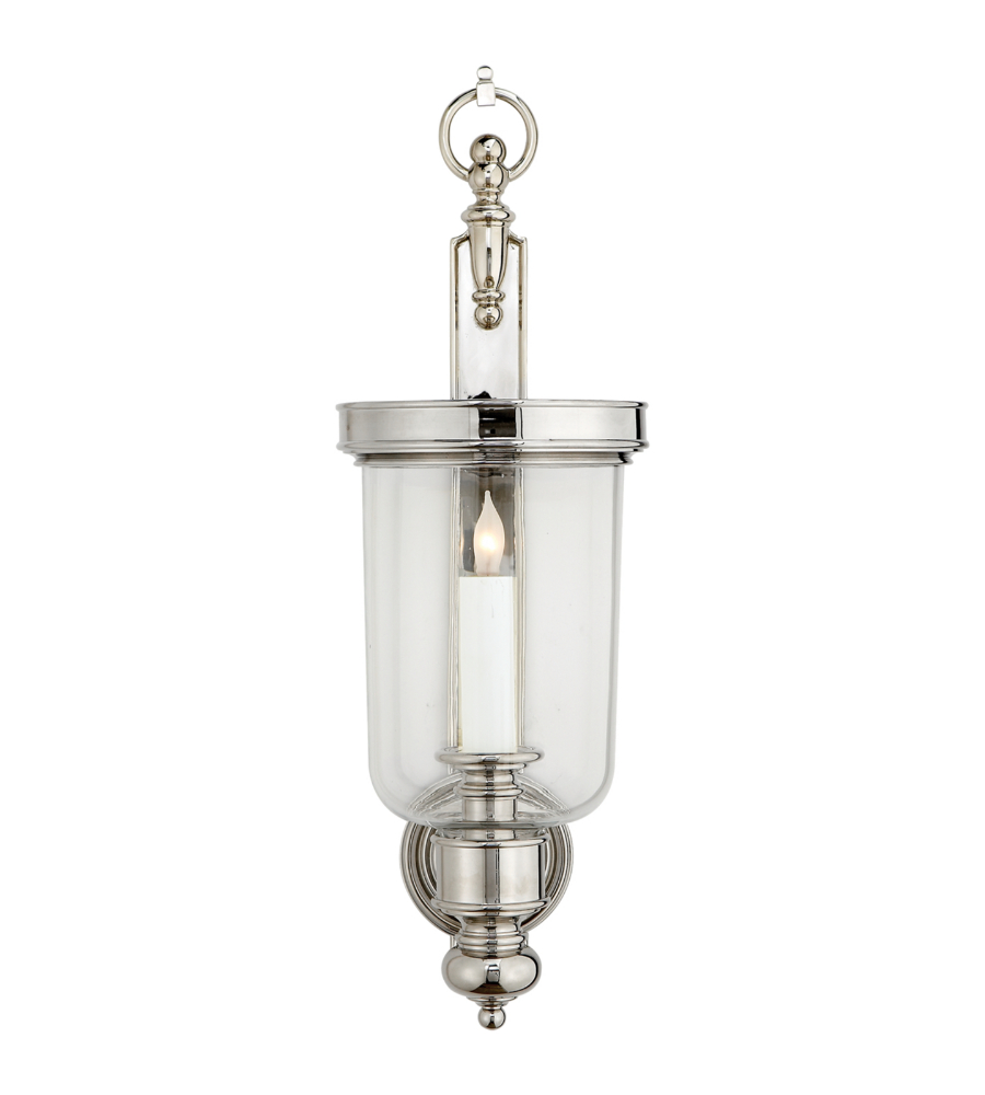 the light sconces p nickel sconce cli polished filament design