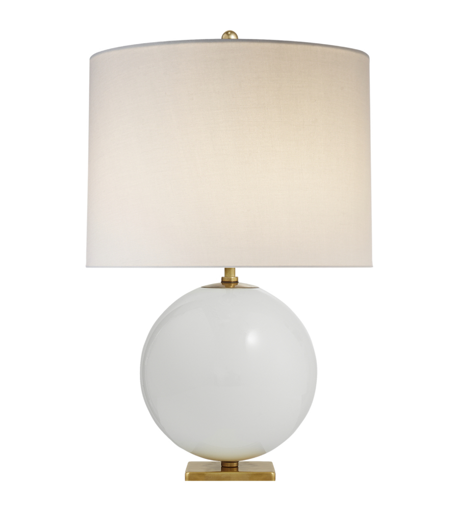 Visual comfort ks 3014cre l kate spade new york casual elsie table visual comfort ks 3014cre l kate spade new york casual elsie table lamp in cream reverse painted glass with cream linen shade foundrylighting mozeypictures Choice Image