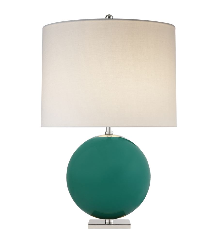 turquoise lamp sweetwater table