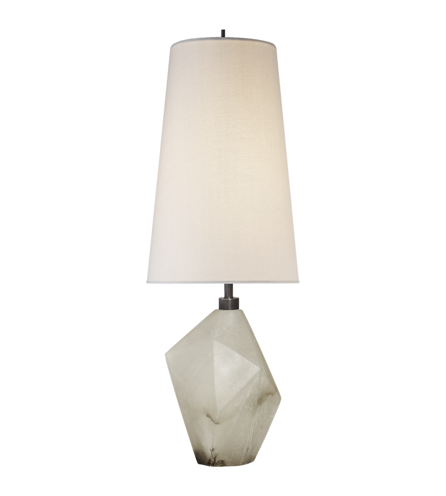 Visual comfort kw 3012alb l kelly wearstler modern halcyon accent visual comfort kw 3012alb l kelly wearstler modern halcyon accent table lamp in alabaster with linen shade foundrylighting aloadofball Image collections