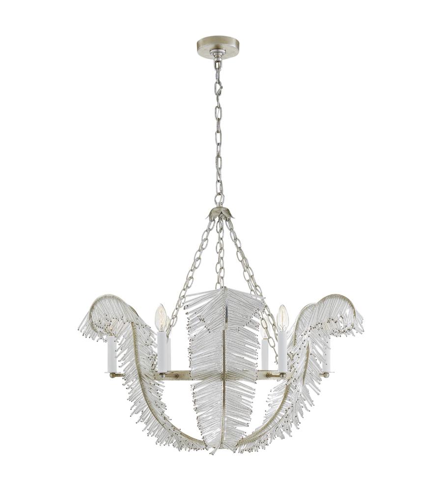 silver visual item leaf in inch aerin shown cfm benit comfort burnished light wide finish chandelier