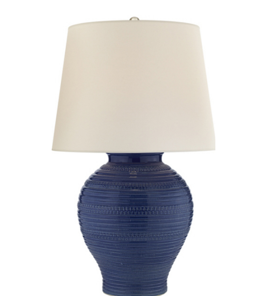 Visual comfort rl3632blu wp ralph lauren blair table lamp for Visual comfort ralph lauren