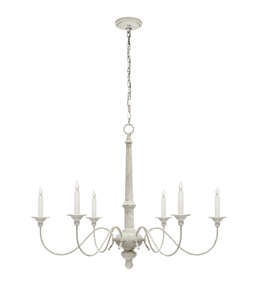 Visual comfort s 5211bw studio vc casual country small chandelier in visual comfort s 5211bw studio vc casual country small chandelier in belgian white foundrylighting aloadofball Gallery