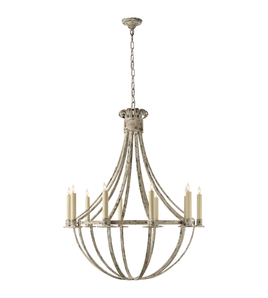 Visual comfort sk 5012bw suzanne kasler casual seymor large visual comfort sk 5012bw suzanne kasler casual seymor large chandelier in belgian white foundrylighting arubaitofo Image collections