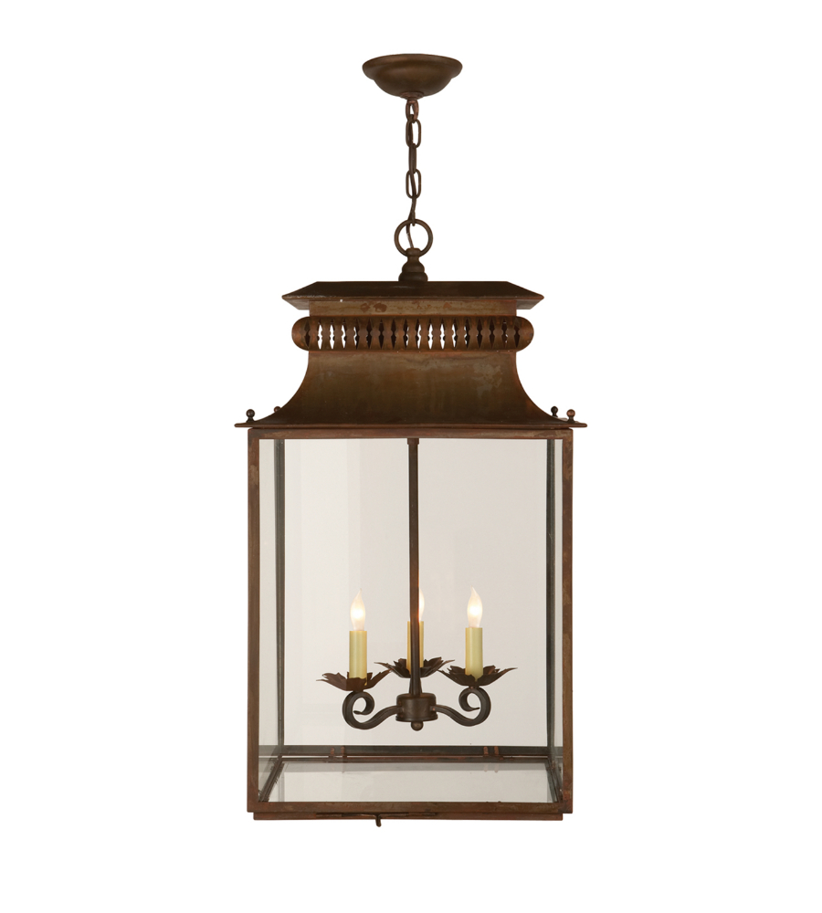 Visual Comfort SK 5301AZ Suzanne Kasler Casual Honore Lantern in Antique Zinc | FoundryLighting.com  sc 1 st  Foundry Lighting & Visual Comfort SK 5301AZ Suzanne Kasler Casual Honore Lantern in ... azcodes.com
