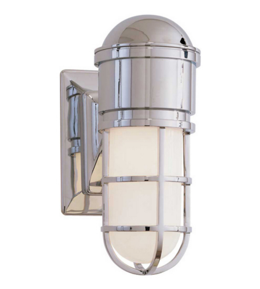 Visual comfort sl 2000ch wg e f chapman casual marine wall light visual comfort sl 2000ch wg e f chapman casual marine wall light in chrome with white glass foundrylighting mozeypictures Choice Image