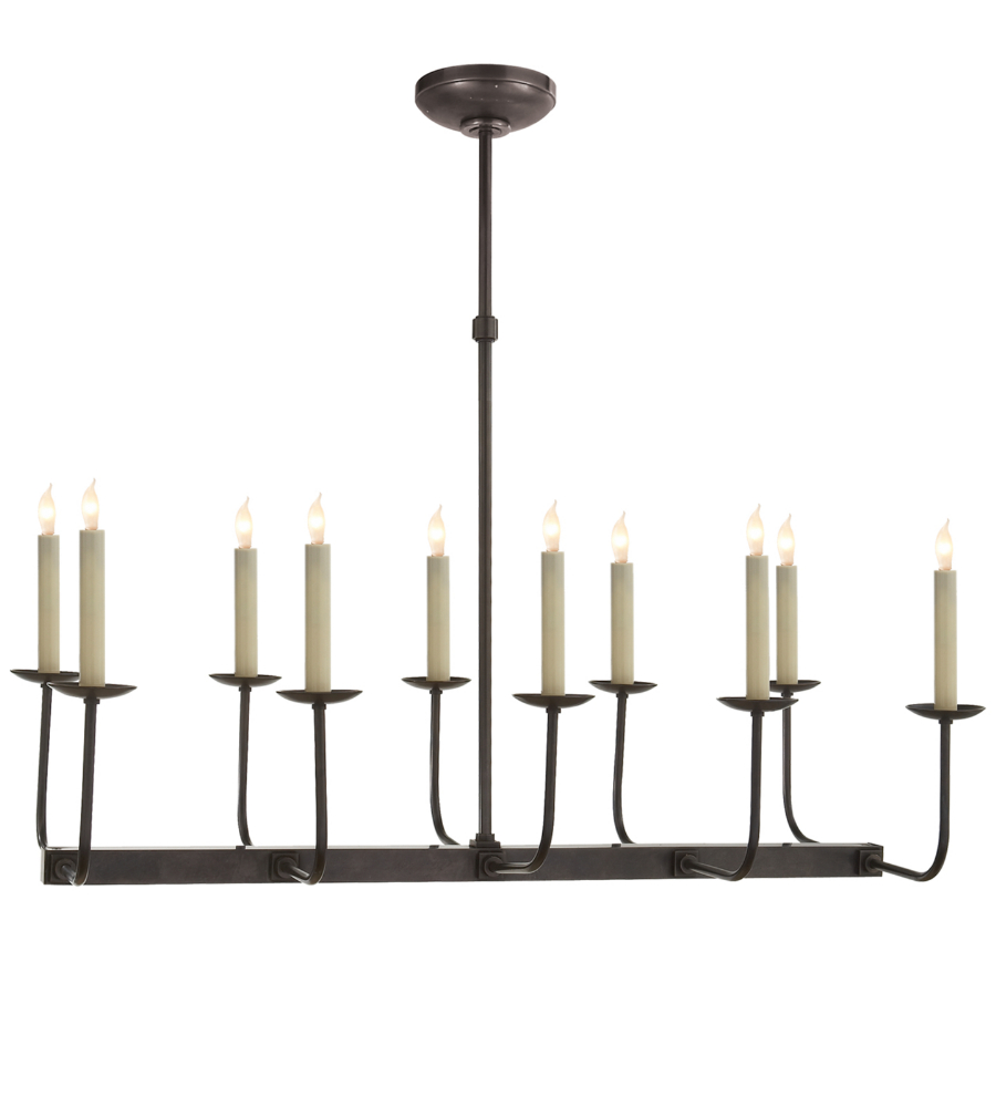 Visual comfort sl 5863bz e f chapman modern linear branched visual comfort sl 5863bz e f chapman modern linear branched chandelier in bronze foundrylighting aloadofball Choice Image