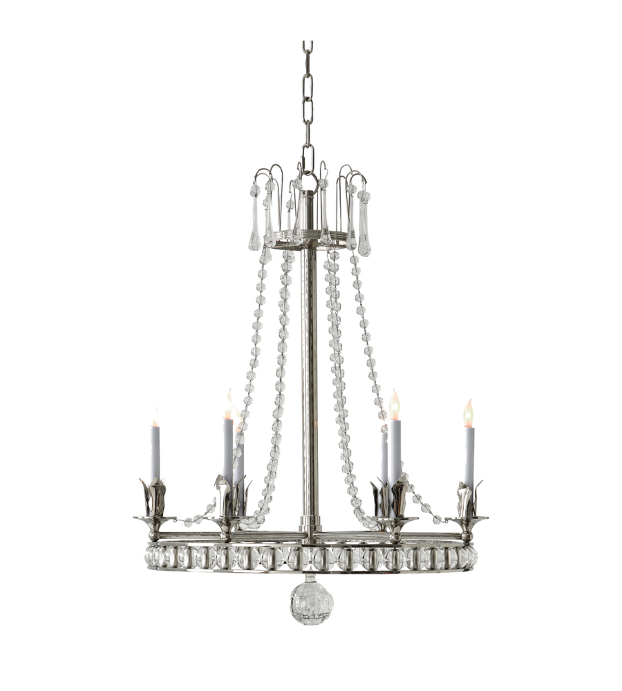 pin chandelier lights frosted nickel five glass modern seeded brushed